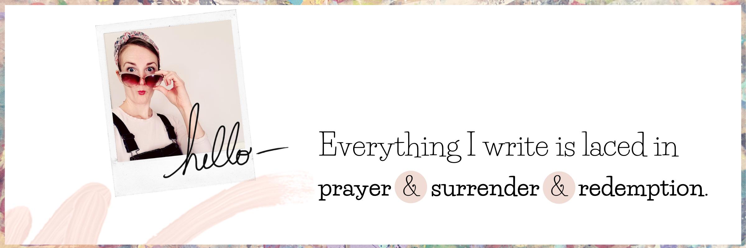 slider 3 prayer & surrender & redemption